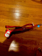 (New) KONG Comfort Traffic Dog Leash Padded Handle Red 4 Ft.