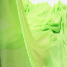 Soft Chiffon Georgette Voile Fabric Tulle Wed Lining Dress Material Sheer Yard