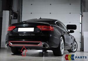 Audi Original A5 08-11 S LINE Difusor Parachoques Trasero Embellecedor Rejilla