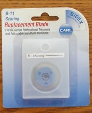 CARL B-11 REPLACEMENT BLADE - FOR RT SERIES PROFESSIONAL TRIMMERS - SCORING