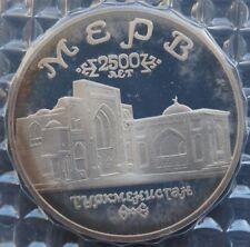 Monedas Rusas-Raro Rusia - 5 rublos-Antigua Merv PROOF - 1993