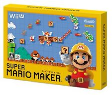 Wii U Super Mario Maker Nintendo Japan Import Japanese Game