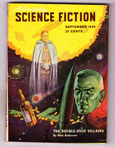 Astounding Science Fiction Sept 1949 The Double Eyed Villains