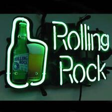 """New Rolling Rock Beer Neon Light Sign 17""""x14"""""""
