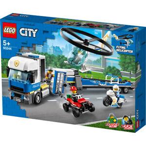 Lego City Police Helicopter Transport Building Set - 60244