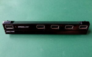 USB Hub 5-fach von Speedlink fuer ps3 Slim und Super Slim Playstation 3 PS3