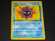 Pokemon 1st Ed. Fossil Set UN-COMMON Cloyster 32/62 - NM/M Condition