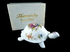 HAMMERSELY BONE CHINA TORTOISE TRINKET BOX