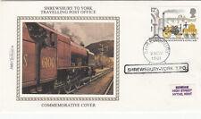 Benham Shrewsbury to York Travelling Post Office.  2 Nov 1981 Shrewsbury - York