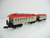 Arnold N 1:160 0363 2-teiliger Personen/Packwagen Zug 4-achsig UNION PACIFIC