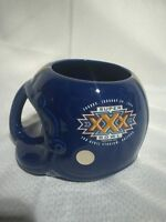 Superbowl XXX 1995 Sun Devil Stadium Arizona Maxwell House Helmet Mug