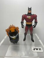 1993 VINTAGE (Kenner) INFRARED  Batman Action Figure Animated Series