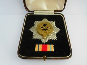 WWII ?? CASED THE 22ND CHESHIRE REGIMENT BADGE