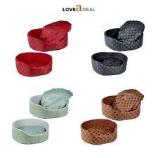 Soft Round Dog Cat Puppy Kitten Pet Bed Basket Cushion Luxury Fleece Washable