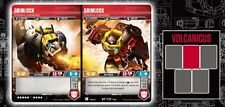 TRANSFORMERS TCG - GRIMLOCK - RT T27/T46 - RARE HOLO WAVE 2 ROTC - BRAND NEW