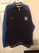 Duke Blue Devils NIKE mens XL Full Zip Jacket, NWOT