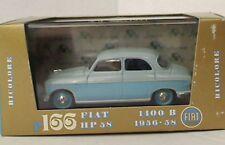 BRUMM R166-02 FIAT 1400B die cast model road car grey & pale blue 1956 1958 1:43