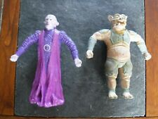 MMPR Power Rangers Bendables Bendy 1995 movie figure lot IVAN OOZE & MORDANT