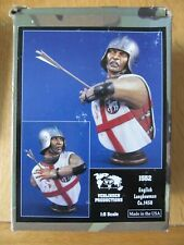 Verlinden Productions 1552 English Longbowman Ca. 1450 in 1:5 scale.