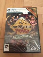 PC Monster Madness: Battle for Suburbia (New & Sealed)