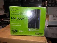 NEW Western Digital WD My Book Essential Edition  500GB USB2.0  Hard Drive