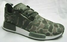 low priced 27c89 a920e Adidas NMD R1 Camouflage Men Walking Shoes 8.5