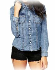 Unbranded Denim Tops & Shirts for Women