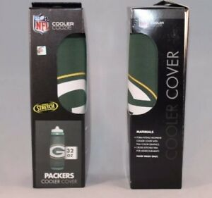 2 x NEW Green Bay Packers NFL Insulated Cooler Coozie 1/2 Gallon