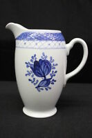 MINT Royal Copenhagen China Faience TRANQUEBAR BLUE 40oz Milk or Water Pitcher