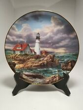Guardians Of The Coasts by Rudi Reichardt Lighthouse Limited Edition Plate