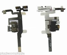OEM Original BLACK Audio Jack Volume Flex Cable Ribbon Headphone 4 iPhone 4S USA