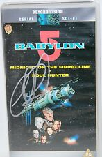 BABYLON 5 : Volume 1 Video Tape, signed by Claudia Christian