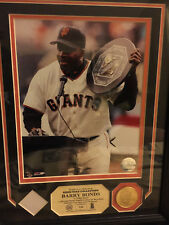 """Barry Bonds Highland Mint """"Game Used Collection"""" 4 Time MVP #156 of 225"""