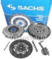 SACHS DUAL MASS FLYWHEEL, CLUTCH KIT, CSC VW GOLF 1.9 TDI 1.9TDI 150 4MOTION