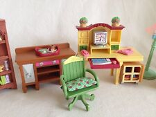 Fisher-Price Loving Family Home Office Dollhouse Furniture Room