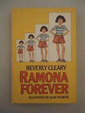 Vtg RARE Beverly Cleary Ramona Forever Harback First Weekly Reader Edition 1984