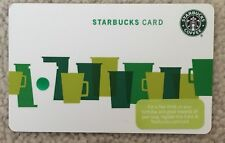 Starbucks 2010 USA Green Cups Card