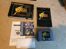 Legend of Zelda Ocarina of Time Nintendo 64 N64 Boxed Complete with Manual - PAL