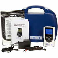 InTENSity 10 Dual Channel Digital TENS Unit -10 Preset Modes Muscle Stimulator