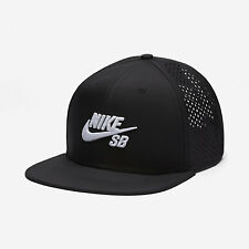 Nike SB Performance Trucker Hat Black White Perf Mens Adjustable New With Tags