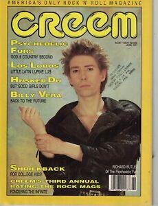 1987 Creem June - Duran Duran; Motorhead; Timbuk3; Los Lobos; Husker Du; Vera