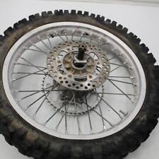 135 1995 suzuki rm250 rm 250 REAR BACK WHEEL RIM W TIRE 110/90-19
