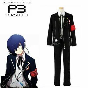 persona 3 minato arisato junpei iori man uniform cosplay costume