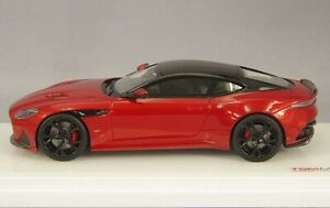TSM430425 1/43 ASTON MARTIN DBS SUPPERLEGGERA HYPER RED (RESIN)