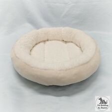 Removable Ivory Sherpa & Fleece Cat Snuggle Bed for Natural Paradise Cat Tree