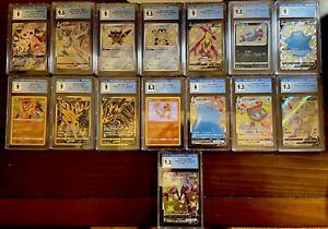 Pokemon Mystery Bundle w/ CGC Graded Card And Custom Pack *SEE DESCRIPTION*