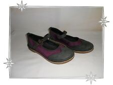 D  - Chaussures  Ballerines  Gris Violet Kickers Pointure 37