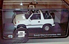 IXO/Triple 9 1/43 1992 SUZUKI VITARA convertible White with black interior 600pc