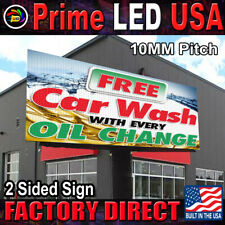 Double Sided P10 Series Programmable Full Color Outdoor Digital Led Sign 4x8