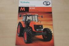 158582) Kubota M 128 X Diesel Traktor Prospekt 01/2009